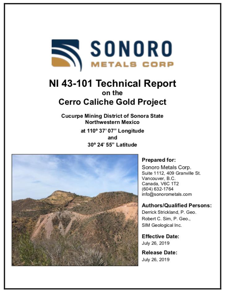 NI 43-101 Technical Report